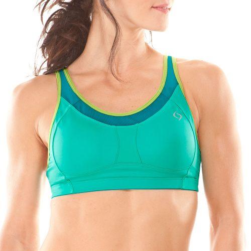 Womens Moving Comfort Vero C/D Sports Bras - Jade XS