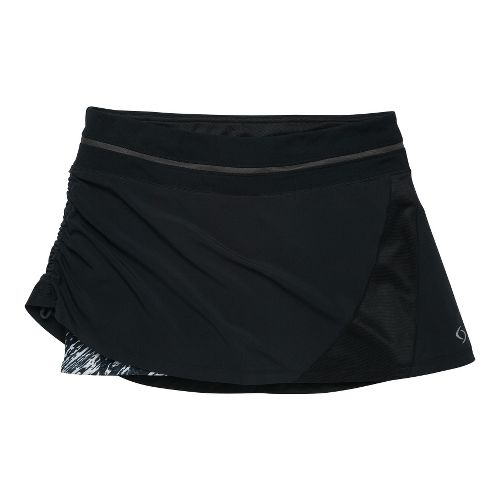 Womens Moving Comfort Sprint Tech Skort Fitness Skirts - Black 2X