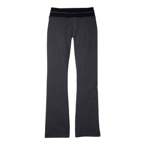 Womens Moving Comfort Flow Full Length Pants - Ebony/Black L