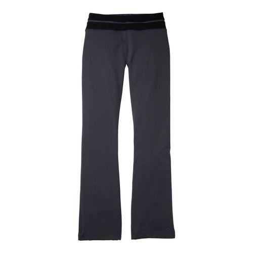Womens Moving Comfort Flow Full Length Pants - Ebony/Black XS
