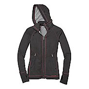 Womens Moving Comfort Urban Gym Full Zip Warm-Up Hooded Jackets