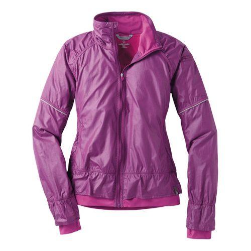 Womens Moving Comfort Sprint Running Jackets - Dazzle Crosshatch XL