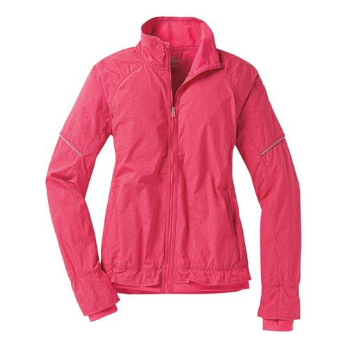 Womens Moving Comfort Sprint Running Jackets - Pixie Crosshatch S