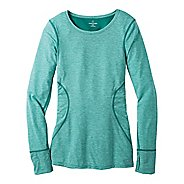 Womens Moving Comfort Endurance Long Sleeve No Zip Technical Tops