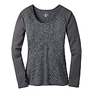 Womens Moving Comfort FusionFlex Long Sleeve No Zip Technical Tops