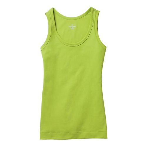Womens Moving Comfort Gotta Love It Tanks Technical Tops - Citrus L