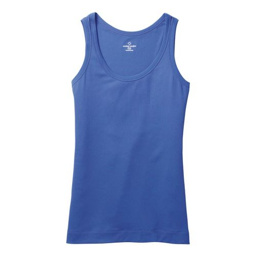 Womens Moving Comfort Gotta Love It Tanks Technical Tops - Chive Blossom XS