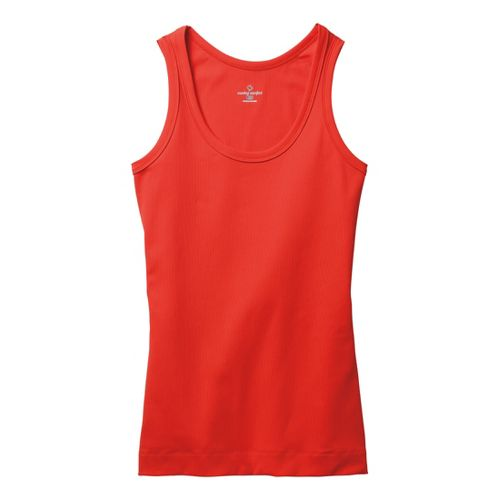 Womens Moving Comfort Gotta Love It Tanks Technical Tops - Red Hot L