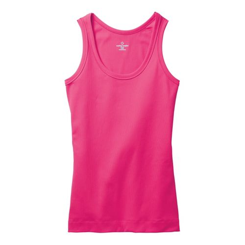 Womens Moving Comfort Gotta Love It Tanks Technical Tops - Sweet Pea XS