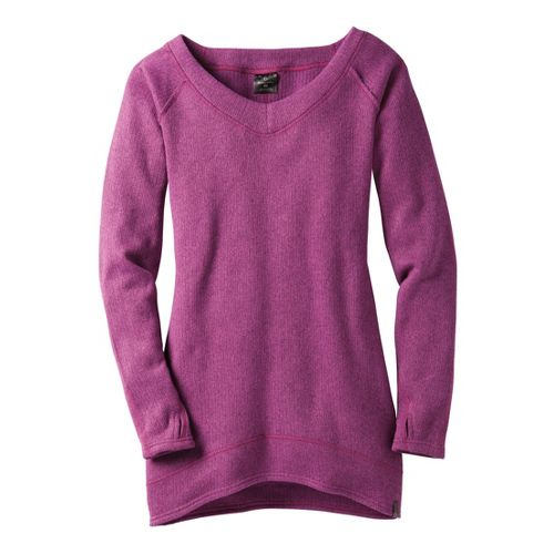 Womens Moving Comfort Gotta Love It Sweater Long Sleeve No Zip Technical Tops - Dazzle ...