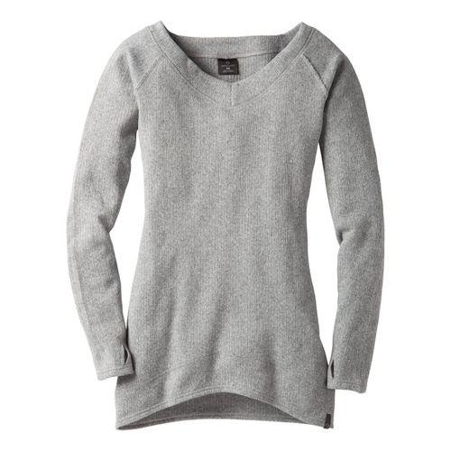 Womens Moving Comfort Gotta Love It Sweater Long Sleeve No Zip Technical Tops - Gloxinia ...