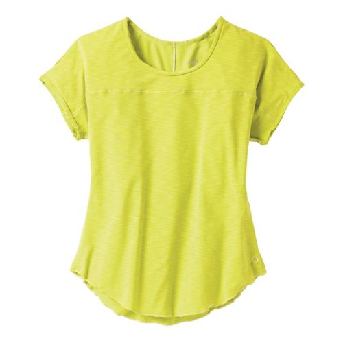 Womens Moving Comfort Metro Tee Short Sleeve Technical Tops - Flash S