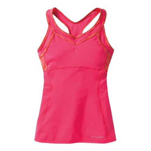 Womens Moving Comfort Foxie Tanks Technical Tops - Pixie M