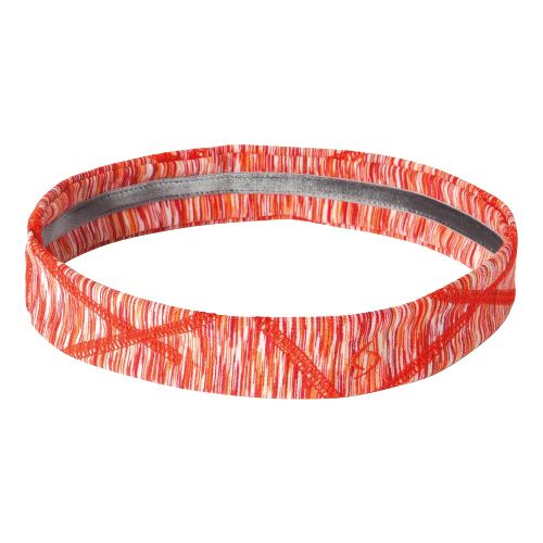 Womens Moving Comfort Mix It Up Headband Headwear - Red Hot Melange