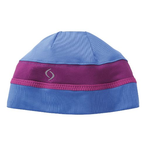 Womens Moving Comfort Just Right Beanie Headwear - Cove