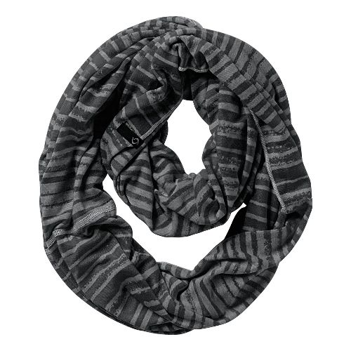 Womens Moving Comfort Mix It Up Scarf Headwear - Black