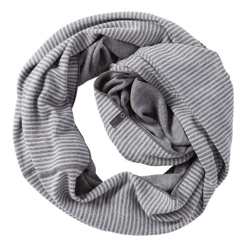 Womens Moving Comfort Mix It Up Scarf Headwear - Creme Stripe/Slate Heather
