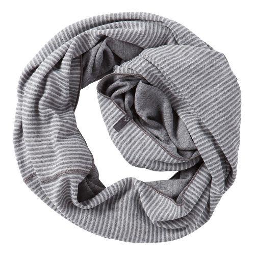 Womens Moving Comfort Mix It Up Scarf Headwear - Creme Stripe/Slate Heather