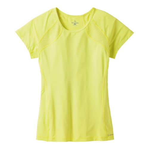 Womens Moving Comfort Dash Tee Short Sleeve Technical Tops - Flash XL