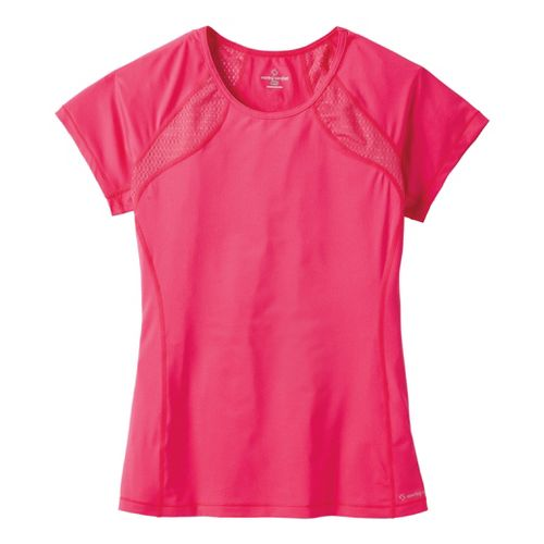 Womens Moving Comfort Dash Tee Short Sleeve Technical Tops - Pixie 2X