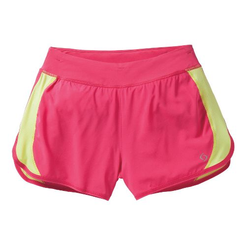 Womens Moving Comfort Dash Lined Shorts - Pixie L