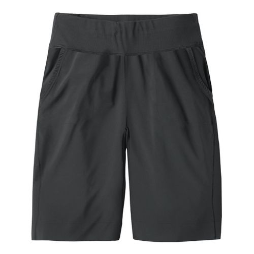 Womens Moving Comfort Metro Bermuda Unlined Shorts - Black XS
