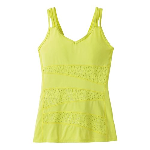 Womens Moving Comfort Hot Shot Tanks Technical Tops - Flash S