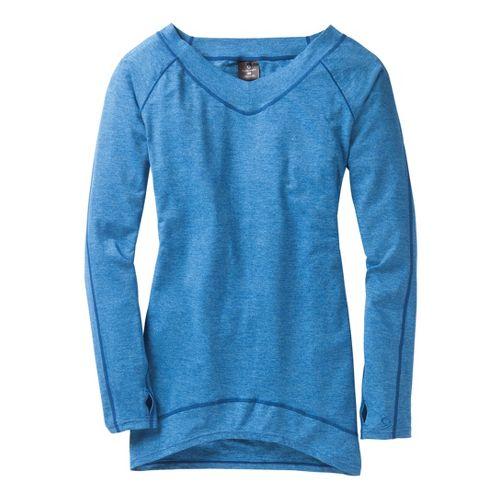 Womens Moving Comfort Gotta Love It Tunic Long Sleeve No Zip Technical Tops - Cosmic ...
