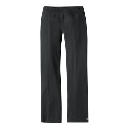 Womens Moving Comfort Fearless Pant Full Length Pants - Black 1XS