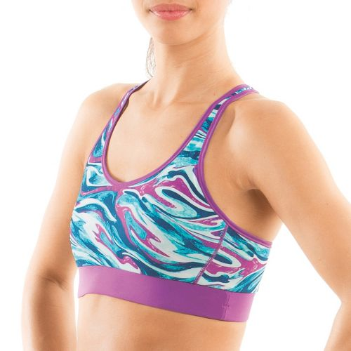 Womens Moving Comfort Switch It Up Racer Sports Bras - Daydream Swirl L