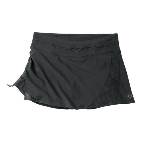 Womens Moving Comfort Sprint Tech Skort Fitness Skirts - Black 1X