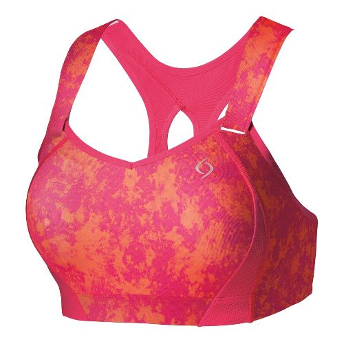 Womens Moving Comfort Juno Sports Bras - Pixie Splash 36C