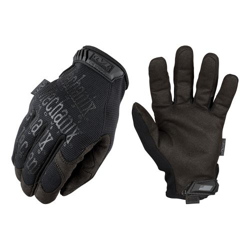 Mens Mechanix Original Covert Glove Handwear - Black L