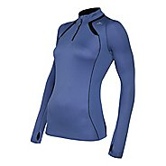 Womens Mizuno Breath Thermo Long Sleeve 1/2 Zip Technical Tops