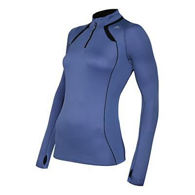 Womens Mizuno Breath Thermo Long Sleeve 1/2 Zip Technical Tops