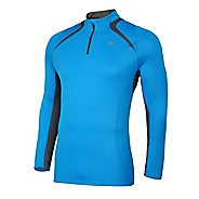 Mens Mizuno Breath Thermo Long Sleeve 1/2 Zip Technical Tops