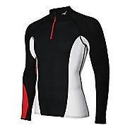 Mens Mizuno Breath Thermo Dynamotion Long Sleeve 1/2 Zip Technical Tops