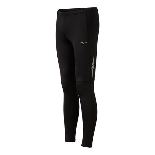 Mens Mizuno BT Layered Fitted Tights - Black XL