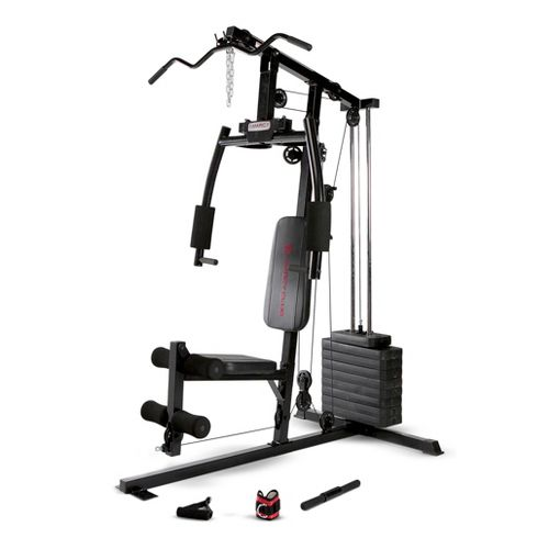 Marcy 120 lb. Single Stack Home Gym Fitness Equipment - Black