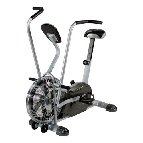 Marcy Excercise Fan Bike Fitness Equipment - Silver/Black