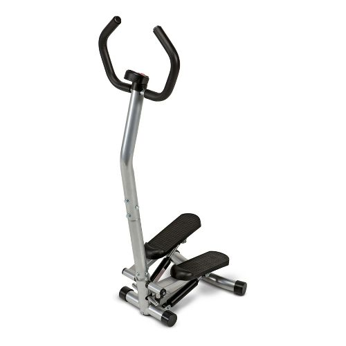 Marcy Mini-Stepper with Assist Handles Fitness Equipment - Silver/Black
