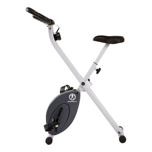 Marcy Foldable Bike Fitness Equipment - White/Black