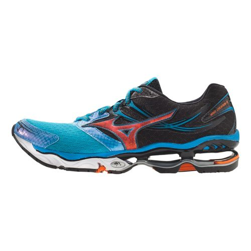 Mens Mizuno Wave Creation 14 Running Shoe - Blue/Black 7.5