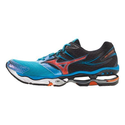 Mens Mizuno Wave Creation 14 Running Shoe - Blue/Black 9.5