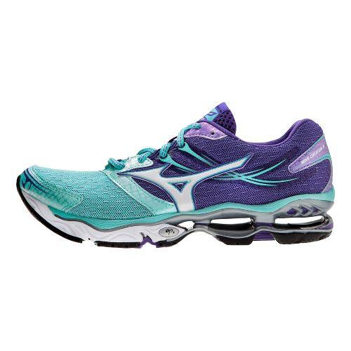Womens Mizuno Wave Creation 14 Running Shoe - Blue/Purple 6.5