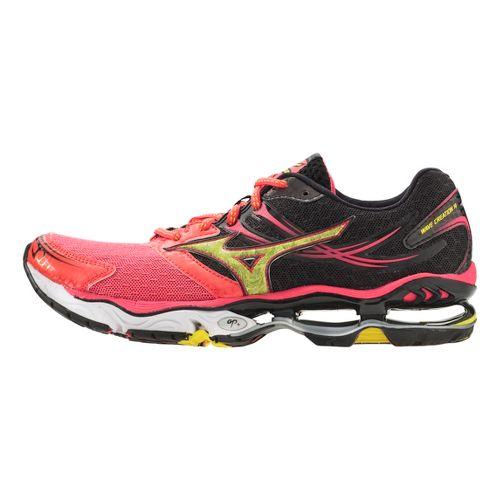 Womens Mizuno Wave Creation 14 Running Shoe - Pink/Black 7
