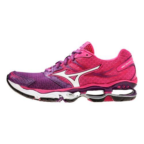 Womens Mizuno Wave Creation 14 Running Shoe - Pink/Purple 8.5