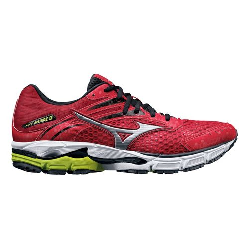Mens Mizuno Wave Inspire 9 Running Shoe - Red 8