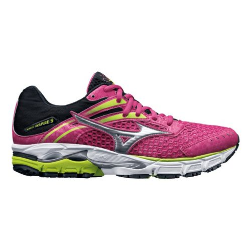 Womens Mizuno Wave Inspire 9 Running Shoe - Pink 8.5