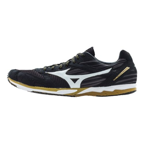 Mizuno Wave Ekiden Racing Shoe - Black/Gold 7
